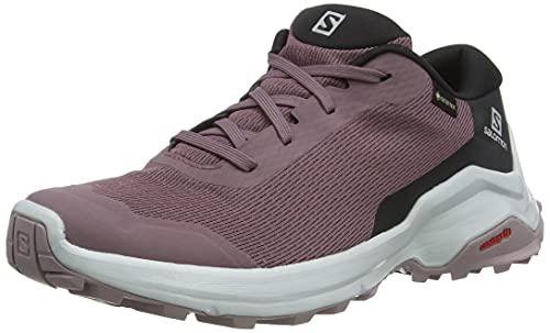 Salomon X Reveal GTX W, Zapatillas de Senderismo Mujer, Morado (Flint/Black/Quail), 36 EU