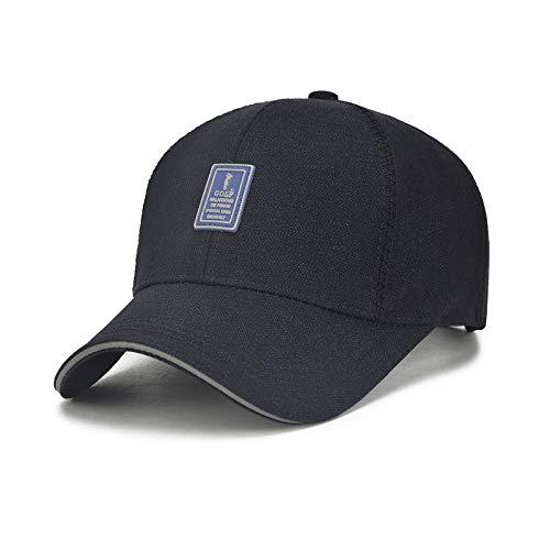 kyprx Gorra de béisbol para Hombre con Azul Ajustable