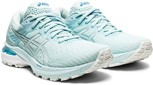 ASICS GT-2000 9, Zapatillas de Running Mujer, Aqua Angel Pure Silver, 39 EU