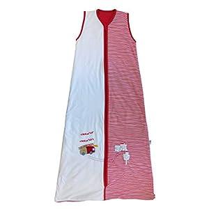 Slumbersac – Saco de dormir para bebé, modelo de verano, aprox. 1 Tog – Búho sencillo – Varias tallas: de 0 a 6 años