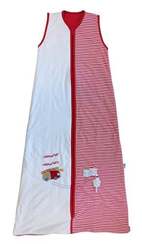 Schlummersack Kinderschlafsack Sommer 1 Tog - Feuerwehr - 150 cm/6-10 Jahre
