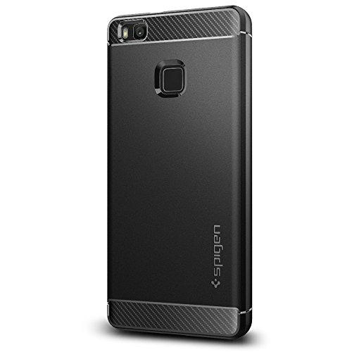 Spigen L05CS20299 Rugged Armor Cover Huawei P9 Lite - Nero