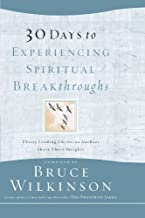 30 Days to Experiencing Spiritual Breakthroughs/The Prayer of Jabez for Women (Gift set)