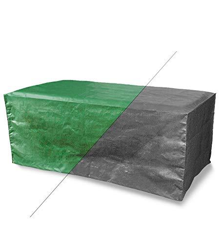 Bosmere Products Ltd P350 Protection d'écran Plus 4 Table rectangulaire réversible pour siège – Vert/Noir