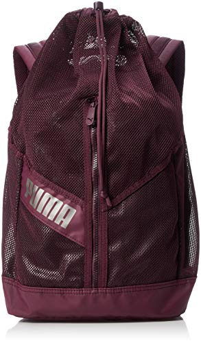 Puma Ambition Backpack Mochila, Color Fig-Bronze-Metallic, tamaño UA