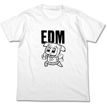 ポプテピピック EDM Tシャツ ホワイト Sサイズ