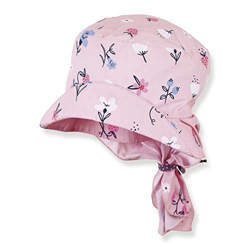 Sterntaler Mädchen Sommer Mütze Hut mit Nackenschutz Rosa 1422036 (55)