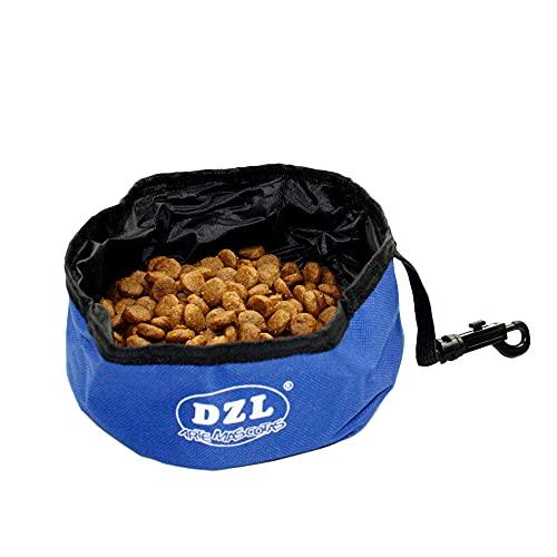 Comedero Bebedero Perro de Viaje Plegable Bowl portátil Perro Gato Mascota Bebedero...