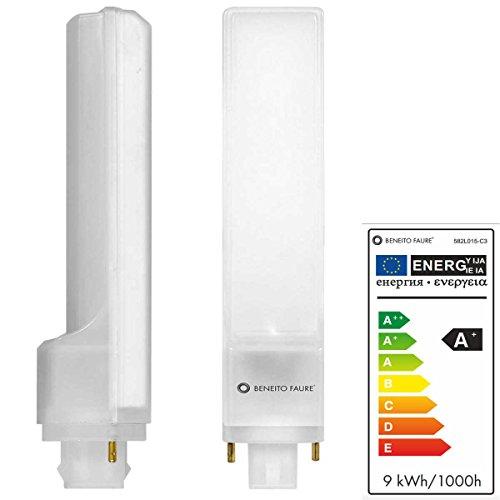 CALA PL 9W G24 2 PINS 220V 135º UNIFORM-LINE LED de Beneito Faure - B
