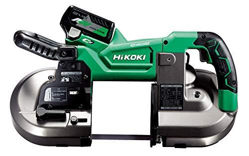 HiKOKI(ハイコーキ) 36V コードレスバンドソー 丸パイプφ120mm切断 クラス最速切断 定置式スタンド対応 蓄電池・充電器・ケース付き CB3612DA(XP)