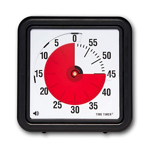 【正規品】TIME TIMER タイムタイマー 19cm 60分 TTA1-W 時間管理