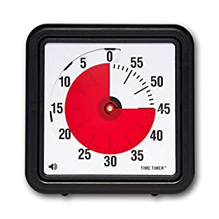 Time Timer Audible Countdown Timer, 8 Inches, Black (B000J5OFW0) | Amazon price tracker / tracking, Amazon price history charts, Amazon price watches, Amazon price drop alerts