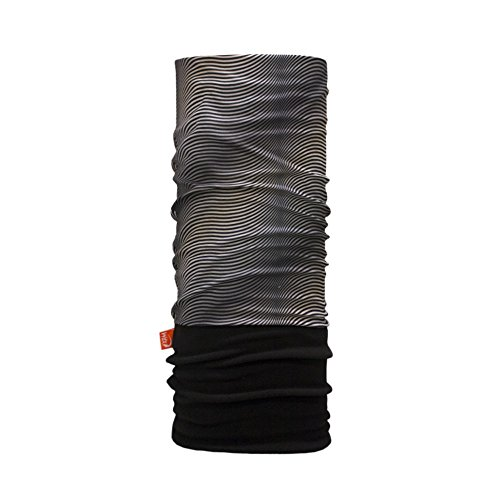 WIND X-TREME 2125 Tour de Cou Homme, Gris (Black Waves), Taille Unique