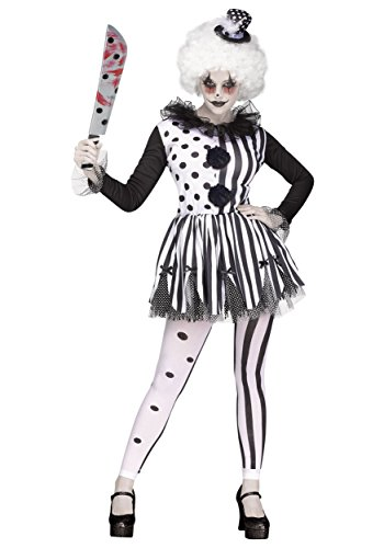 Fun World Women's Killer Clown Costume Large Black