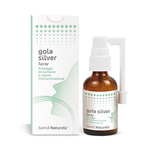 Spray Gola con Argento Colloidale - Gola Silver Santé Naturels® - 30 ml