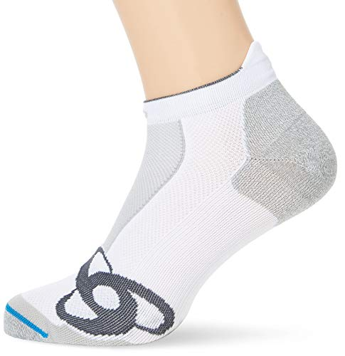 Odlo Socken Socks short RUNNING LOW CUT, Weiß, 42-44, 777080