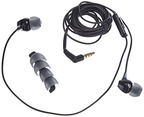 Sony Mdr-Ex15Ap - Cuffie In-Ear con Microfono, Auricolari in Silicone, Nero