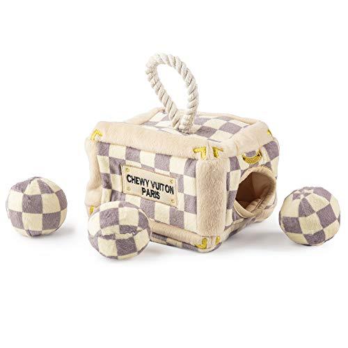 Haute Diggity Dog Durable Hide and Seek Puzzles   Parodie Plüsch interaktives Spielzeug für kleine, mittlere und große Hunde - Bestes Hundespielzeug um sie beschäftigt zu halten