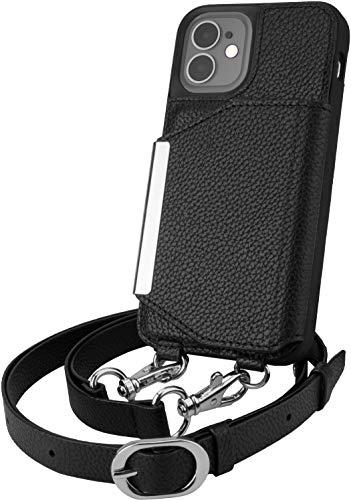 Smartish XB20-BLACK Apple iPhone 12 Mini (5,4'') Crossbody Case Cover Protettiva - Dancing Queen [Borsa/Portafoglio con cinturino staccabile & Titolare della carta], Black