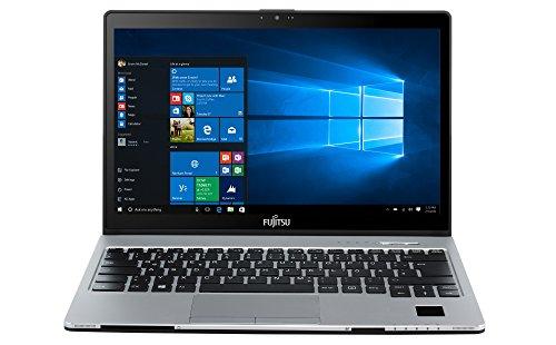 Fujitsu LIFEBOOK S936 VFY:S9360M85ABDE 33,8 cm (13,3 Zoll) Laptop (Intel Core i5 6200U, 12GB RAM, 256GB SSD, Win 10 Home) silber/schwarz