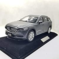 ミニカー 1/18 Mazda CX-8 マツダ CX8 2019 (グレー) ダイキャストモデルカー CX 8