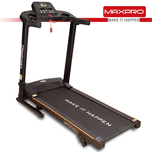 MAXPRO I M 5001 1.5HP (3HP Peak) Motorized TreadmillWith 12 preset Program
