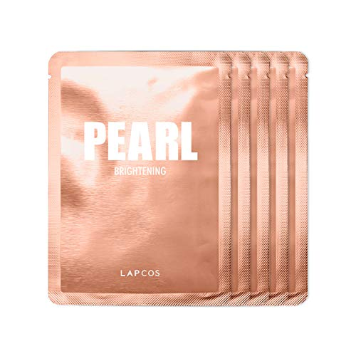 LAPCOS Pearl Sheet Mask, Daily Face…
