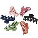 Xingsky 6 Stück Haarspangen Haarklammer Haarspangen Mädchen Rutschfeste Haarnadel,Haarklammer...
