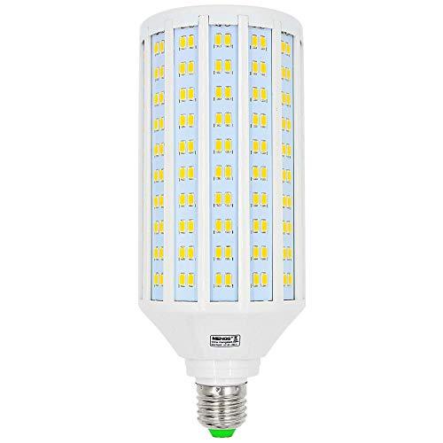 MENGS Bombillas LED E27 50W Equivalente 400W Halógena luces LED, Blanco Cálido 3000K, AC 85-265V, 4400LM Luz LED, Lámpara LED ahorradora de energia
