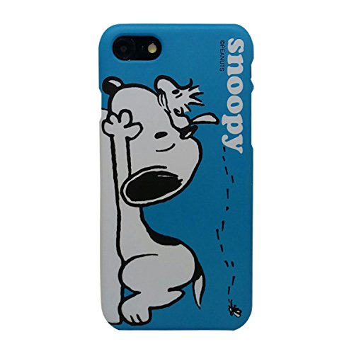 [iPhone 7 Case/iPhone 8 Case] KUBRICK Peanuts Snoopy Charlie Brown Cell Phone Bumper Case Polycarbonate Hard Cover Case UV Coating (Woodstock)