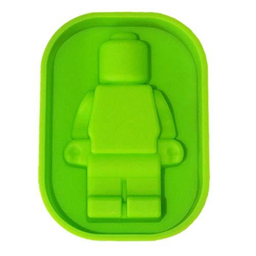 Eiswürfelschale 1 Stück Diy Silikon Lego Roboter Silikon Kuchenform, Eisgitter Eisbox, Handgemachte Schokoladenkuchenform, Kuchen Backwerkzeuge