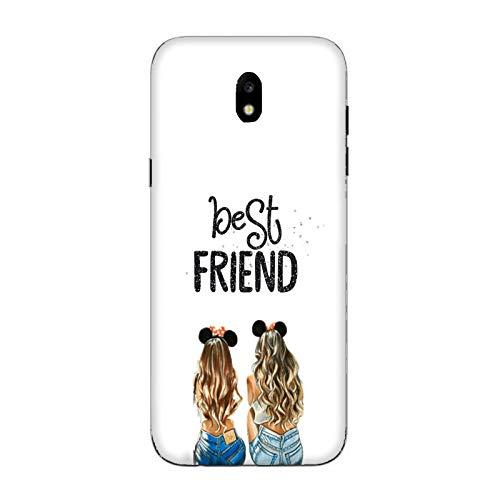 Generico Cover Samsung Galaxy J5 2017   J520 Best Friends Amicizia/Custodia Stampa Anche sui Lati/Case Anticaduta Antiscivolo AntiGraffio Antiurto Protettiva Rigida