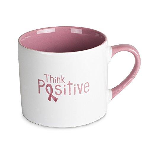 Tara Reed 33328 20 oz Think Positive Pink Mug