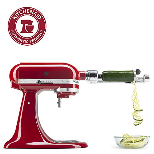 KitchenAid KSM1APC Spiralizer Attachment, 1', Silver