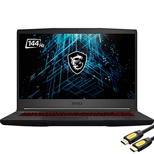 "Mytrix GF65 by M-S-I Thin 3060 Gaming Laptop, 15.6"" FHD 144Hz Display, Intel Core i5-10500H, GeForce RTX 3060 6GB, 16GB RAM, 512GB PCIe SSD, USB-C, Wi-Fi 6, HDMI, Backlit, Mytrix_HDMI Cable, Win 10"