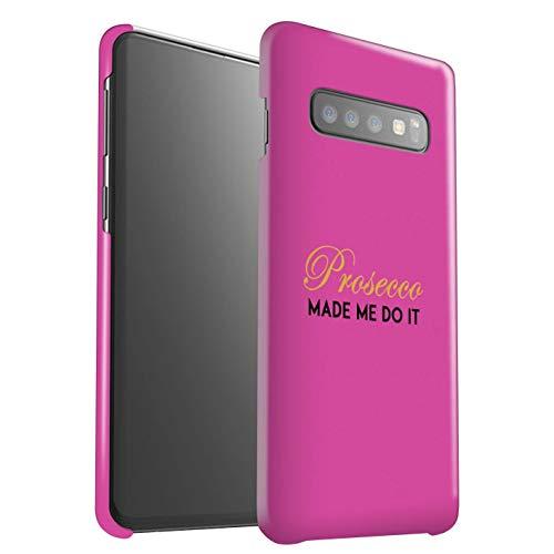 eSwish telefoonhoesje/Cover/Skin/SG-3DSWG / Prosecco modecollectie Samsung Galaxy S10 Plus Gemaakt me doen het/roze