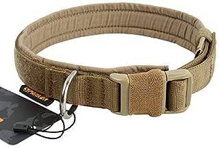 EXCELLENT ELITE SPANKER Puppy Dog Collar Nylon Adjustable Quick Release Dog Collar for Large Medium Small Dog Soft Padded Pet Collar