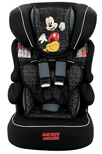 Assento de Elevação Mickey Mouse Nania, Disney, Preto, 9 a 36 kg
