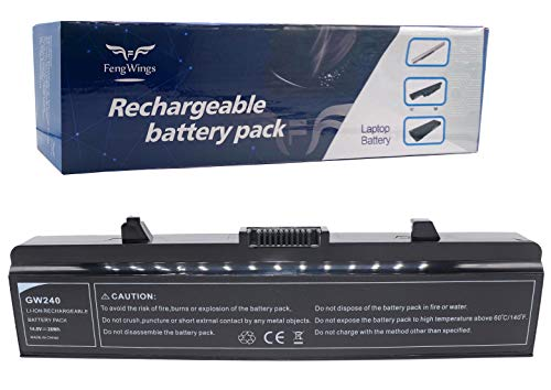 FengWings GW240 14.8V 28Wh GP952 RN873 WK379 X284G HP287 0XR682 Laptop Battery For Dell 500 Inspiron 1525 1545 1526 15