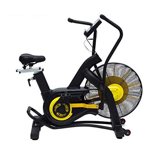JJSFJH Bicicletas de Ejercicios, Bicicleta de Ciclismo Interior, Bicicleta de Ciclismo Interior con cómodo cojín de Asiento, Tableta y Monitor LCD