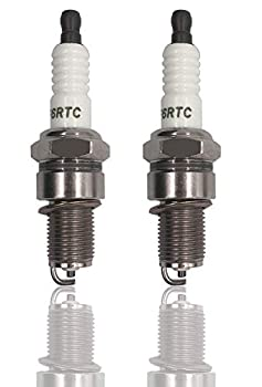 HOOAI 2 Pack Spark Plug Replaces Stens 131-039 Torch F6RTC MTD 751-10292