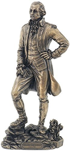 11' George Washington Figure First President Statue Sculpture Founding Father