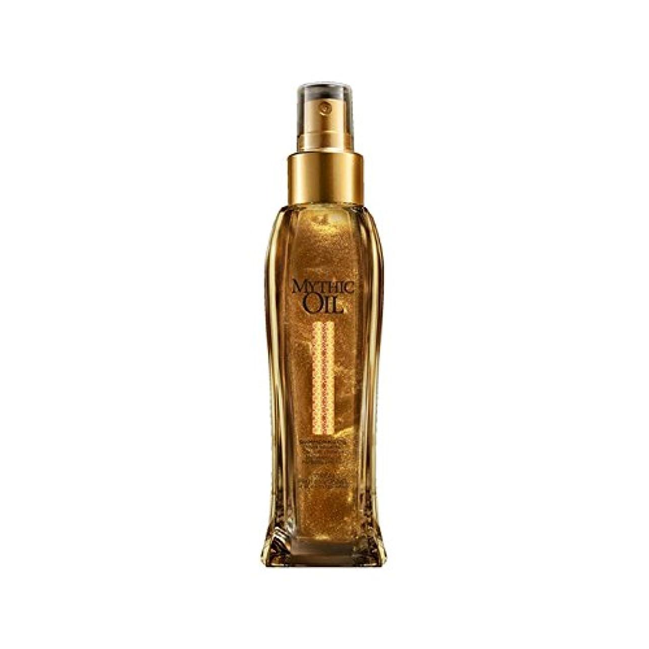 パノラマ追い払うウサギL'Oreal Professionnel Mythic Oil Shimmering Oil (100ml) - ロレアルプロフェッショナルの神話油きらめくオイル(100ミリリットル) [並行輸入品]