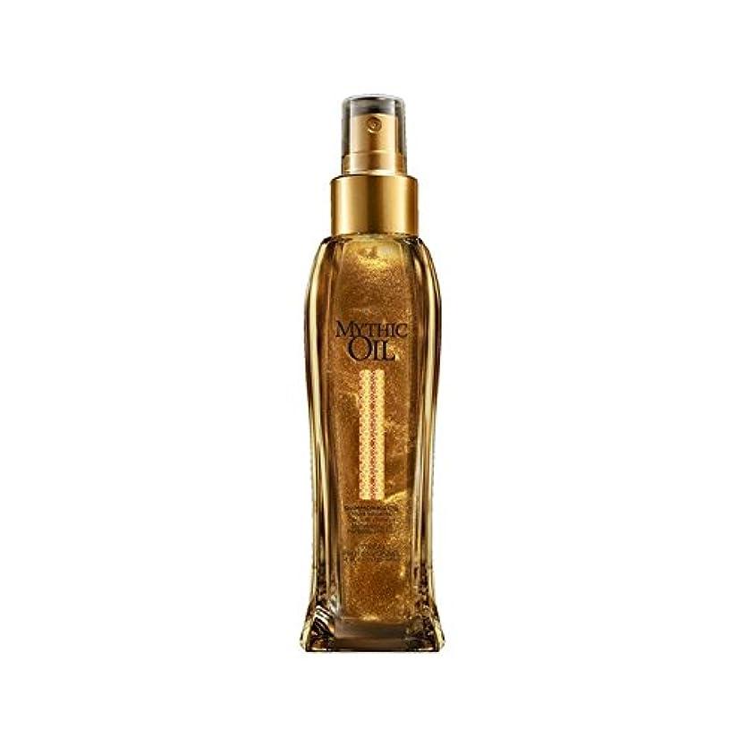 収束する光アサートL'Oreal Professionnel Mythic Oil Shimmering Oil (100ml) - ロレアルプロフェッショナルの神話油きらめくオイル(100ミリリットル) [並行輸入品]
