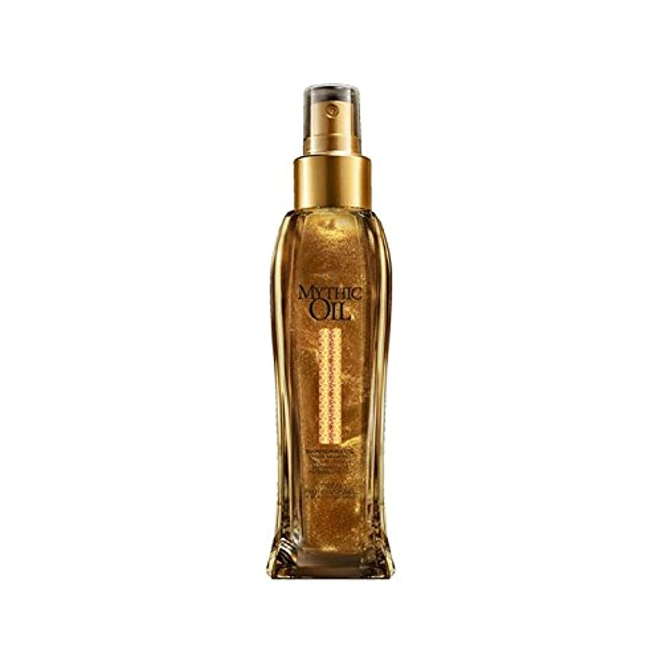 どきどきマッシュ正確なL'Oreal Professionnel Mythic Oil Shimmering Oil (100ml) (Pack of 6) - ロレアルプロフェッショナルの神話油きらめくオイル(100ミリリットル) x6 [並行輸入品]