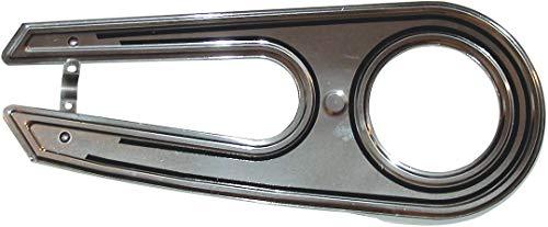 Horn 102382 Kettenschutz SL 22 Alu poliert liniert