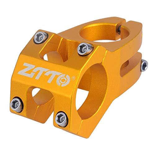 N/A/a 31,8x45mm Pedestal Corto para Bicicleta 28,6mm Manillar para Carretera MTB BMX Pedestal Corto para Bicicleta de montaña componente de reparación-5 - de Oro