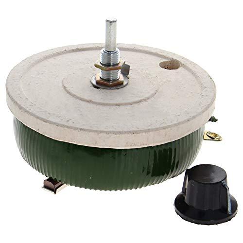 Fielect Wirewound Ceramic Potentiometer Rheostat Variable Resistor with Knob 200W 1Pcs