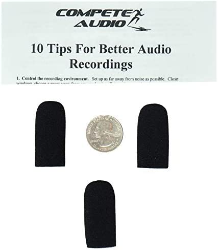 Compete Audio DC36 Brand new Max 43% OFF replacement foam windscreen microphone micro