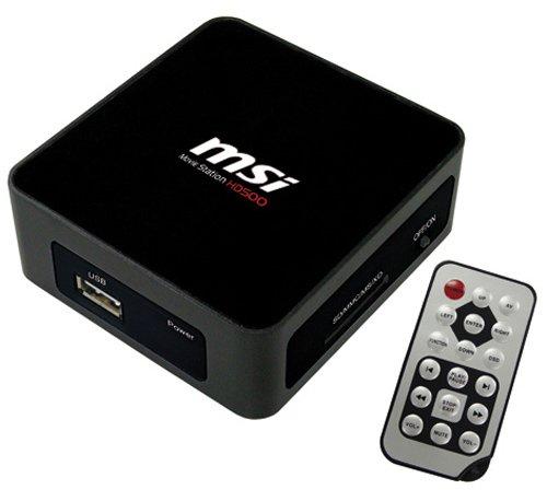 MSI MP-HD500-010R Media Station HD500 (USB 2.0)